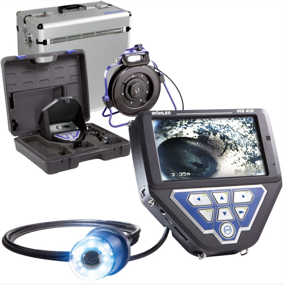 Wohler VIS 400 Visual Inspection Camera with Reel Kit