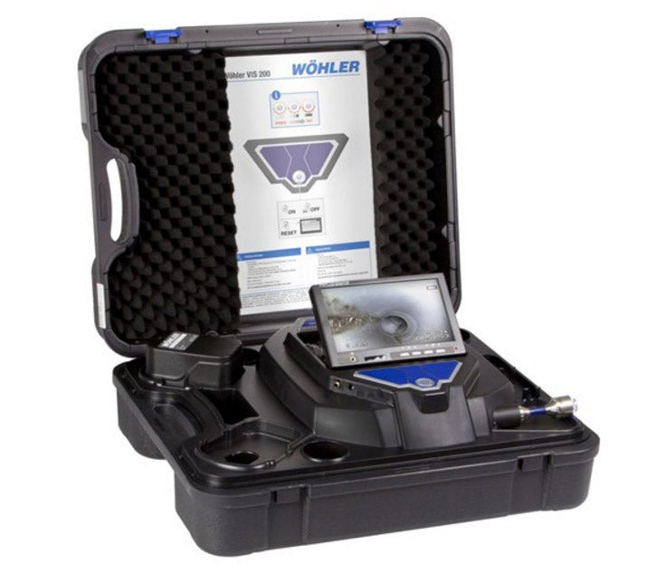 Wohler VIS 200 and VIS 250 1-inch (2.5cm) Inspection Camera Head
