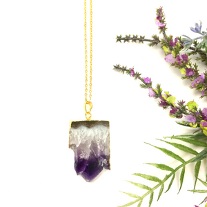 Ascend Amethyst Necklace
