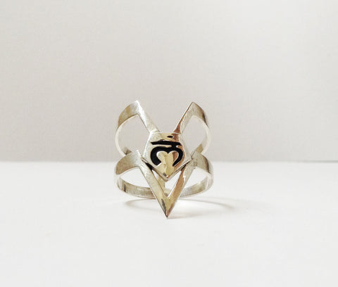 Sterling Root Chakra Ring- Grounding