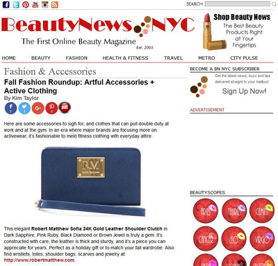 Robert Matthew Featured in Beauty News NYC