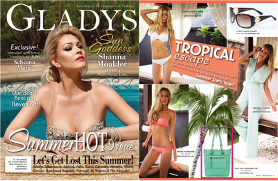 Robert Matthew's Sophie & Zoey Featured in Gladys Magazine