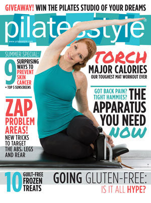 Robert Matthew Featured in Pilatesstyle Magazine