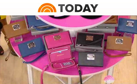 Today Show feature of Robert Matthew handbags and wallets