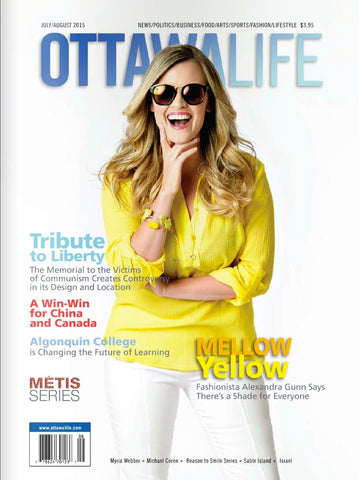 Read the latest Ottawa Life Magazine news and features of Robert Matthew handbags and fashion accessories.