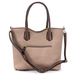 Robert Matthew Heidi Tote - Nude - Robert Matthew Handbags and Fashion