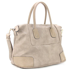 Robert Matthew Nina Tote - Stone - Robert Matthew Handbags and Fashion