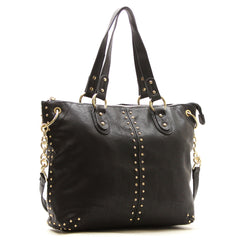 Robert Matthew Peyton Satchel Tote - Black - Robert Matthew  - 1