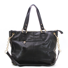 Robert Matthew Peyton Satchel Tote - Black - Robert Matthew  - 3