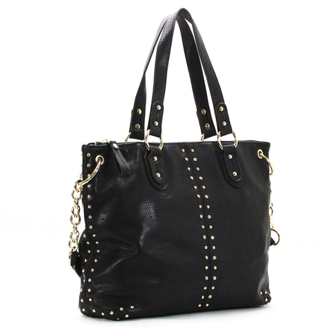 Robert Matthew Peyton Satchel Tote - Black
