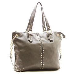 Robert Matthew Peyton Satchel Tote - Slate Grey - Robert Matthew  - 1