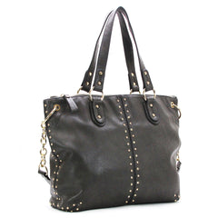 Robert Matthew Peyton Satchel Tote - Slate Grey - Robert Matthew  - 2