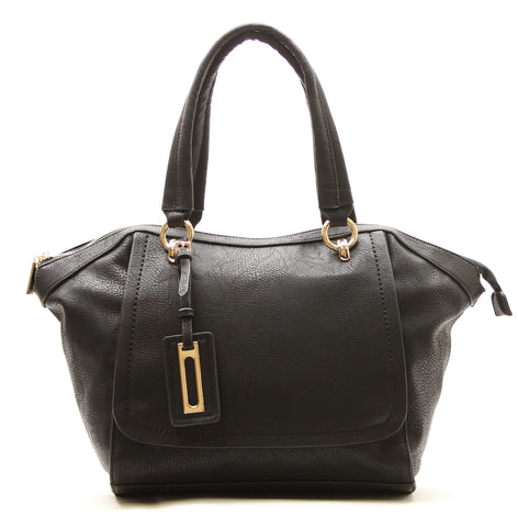 Robert Matthew Alayna Satchel Tote - Black