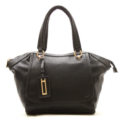 Robert Matthew Alayna Satchel Tote - Black - Robert Matthew  - 2