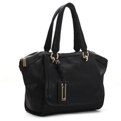 Robert Matthew Alayna Satchel Tote - Black - Robert Matthew  - 1