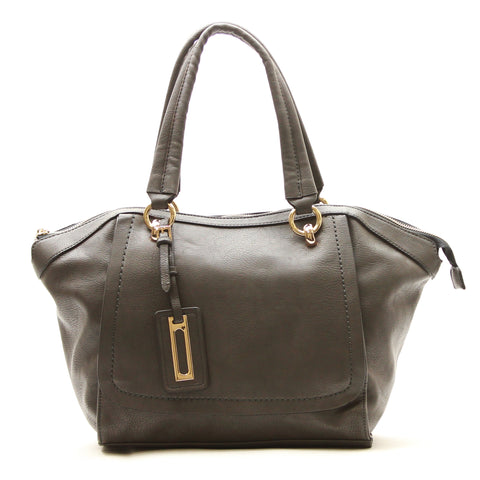 Robert Matthew Alayna Satchel Tote - Slate Grey - Robert Matthew  - 1