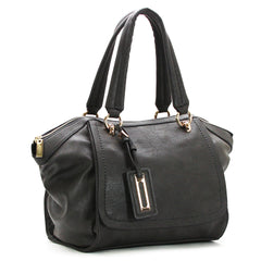 Robert Matthew Alayna Satchel Tote - Slate Grey - Robert Matthew  - 2