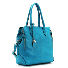 Robert Matthew Sophie Shoulder Tote - Turquoise - Robert Matthew  - 1