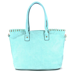 Robert Matthew Penelope Tote - Light Turquoise - Robert Matthew Handbags and Fashion