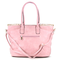 Robert Matthew Penelope Tote - Light Rose