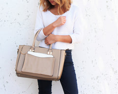 Robert Matthew Paige Tote - Latte - Robert Matthew  - 2
