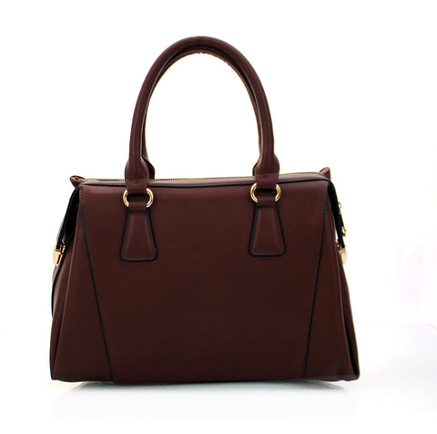Robert Matthew Rachel Tote - Merlot - Robert Matthew Handbags and Fashion