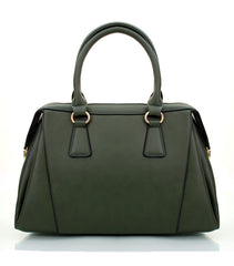 Robert Matthew Rachel Tote - Deep Emerald - Robert Matthew Handbags and Fashion