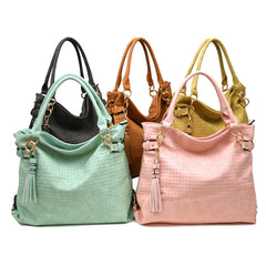 Robert Matthew Rosie Hobo Tote Bag - Mint - Robert Matthew  - 6