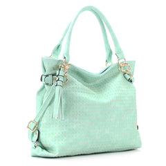 Robert Matthew Rosie Hobo Tote Bag - Mint - Robert Matthew  - 5