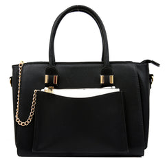 Robert Matthew Paige Tote - Black - Robert Matthew Handbags and Fashion