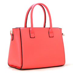 Robert Matthew Paige Tote - Coral - Robert Matthew Handbags and Fashion