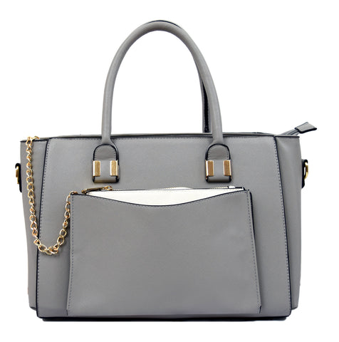 Robert Matthew Paige Tote - Light Grey
