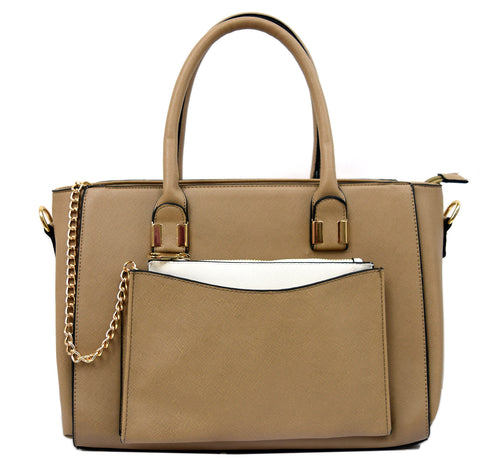 Robert Matthew Paige Tote - Latte - Robert Matthew