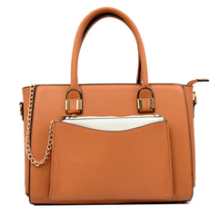 Robert Matthew Paige Tote - Caramel - Robert Matthew Handbags and Fashion