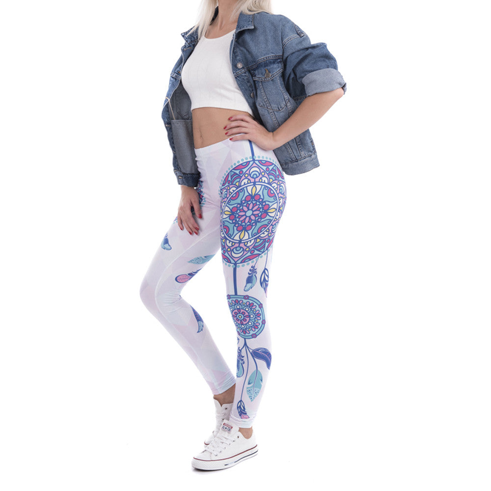 Robert Matthew Dreamcatcher Print Leggings