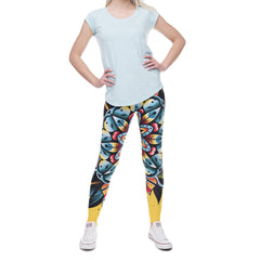 Robert Matthew One Size Print Leggings - Wild Flower