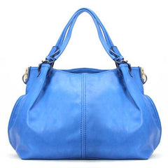 Robert Matthew Emily Shoulder Tote - Blue - Robert Matthew Handbags and Fashion