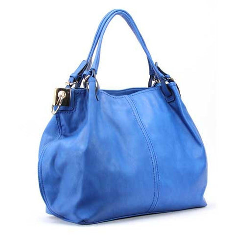 Robert Matthew Emily Shoulder Tote - Blue