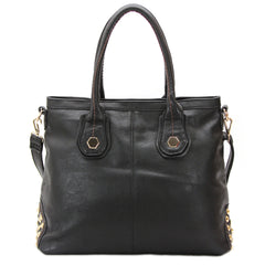 Robert Matthew Hannah Shoulder Tote - Black