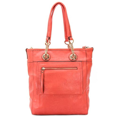 Robert Matthew Zoey 2-in-1 Shoulder Tote - Fuchsia
