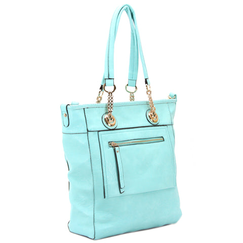 Robert Matthew Zoey 2-in-1 Shoulder Tote - Light Blue