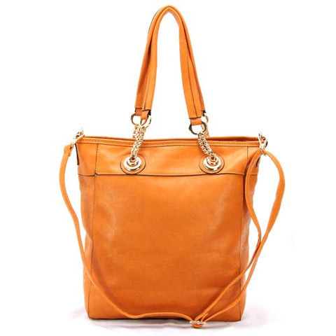 Robert Matthew Zoey 2-in-1 Shoulder Tote - Orange