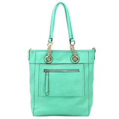 Robert Matthew Zoey 2-in-1 Shoulder Tote - Mint
