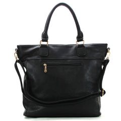 Robert Matthew Olivia Shoulder Tote - Black - Robert Matthew  - 2
