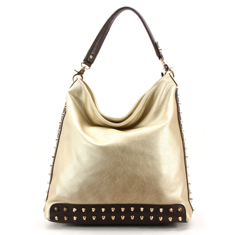 Robert Matthew Mckenzie Shoulder Bag - Champagne