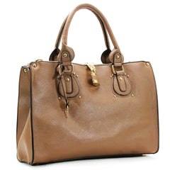 Robert Matthew Natalie Shoulder Tote - Macchiato - Robert Matthew Handbags and Fashion