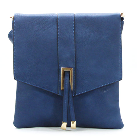 Robert Matthew Caroline Crossbody Shoulder Bag - Navy
