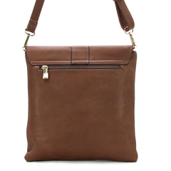 Robert Matthew Caroline Crossbody Shoulder Bag - Cocoa