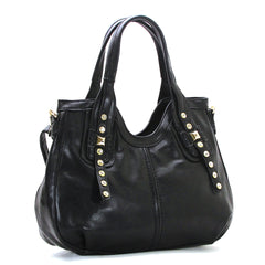 Robert Matthew Emma Tote - Black - Robert Matthew Handbags and Fashion