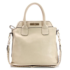 Robert Matthew Scarlett Tote - Cream